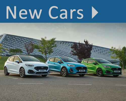 New Ford Cars For Sale in Swanage, near Poole, Bournemouth, Weymouth and Dorchester in Dorset